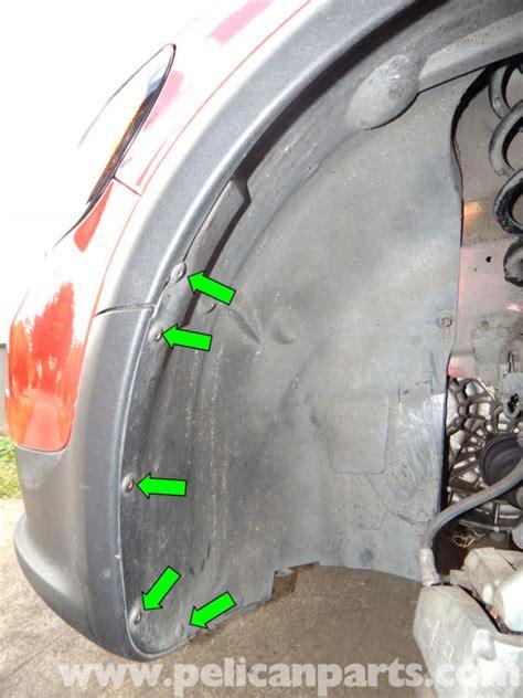 volvo  front bumper cover removal   pelican parts diy maintenance article
