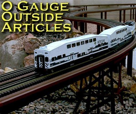 Garden Railway Accessories O Outside Articles