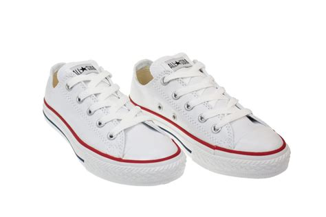 youth sneakers converse youth junior white canvas trainers sneakers