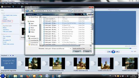 membuat video windows movie maker cara membuat video dari foto menggunakan windows movie