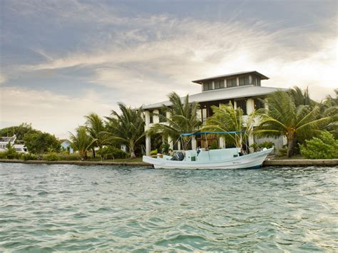 luxury beachfront island home dock vrbo