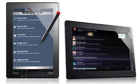 Tablet Lenovo Cdma lenovo thinkpad tablet offered with qualcomm gobi 3000 technology techgadgets