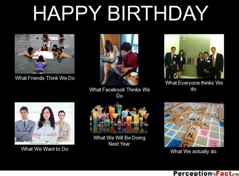 what my friends think i do template happy birthday what think i do what i really