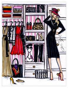 kleiderschrank mode hayden williams fashion illustrations fashion closet by
