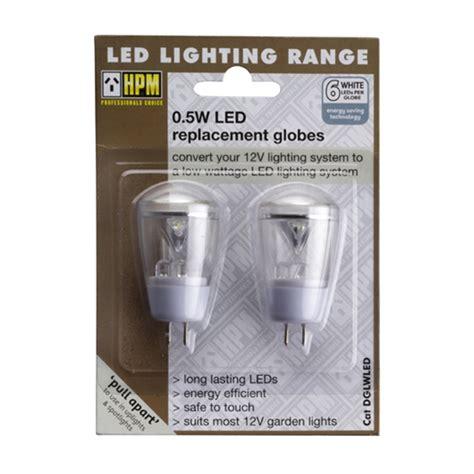 led replacement bulbs for garden lights hpm 12v led garden light bulbs 2 pack bunnings warehouse