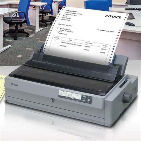 Harga Printer Dot Matrix Usb printer epson lq 2190 harga jual printer epson lq2190