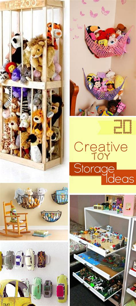 storage ideas for toys 20 creative storage ideas hative