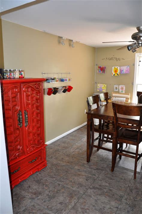 Homeschool Dining Room by The Adventures Of An Air Family Homeschool