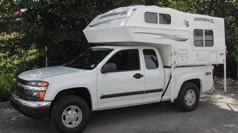 chevy colorado campers gmc canyon camper options savage camper