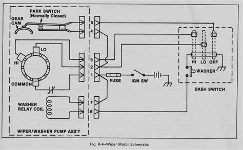 68 camaro wiper motor wiring diagram wiring diagram manual