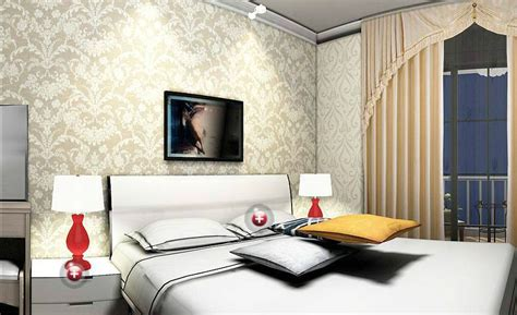 Designer Bedroom Wallpaper Door And Seaworld Wallpaper Design For Bedroom 3d House