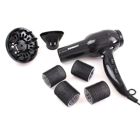 Hair Dryer Diffuser Bag hair dryer set toni ultimate volume diffuser rollers salon styling kit ebay