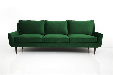 emerald green velvet sofa stockholm sofa in emerald green velvet modshop