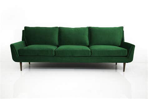 stockholm green sofa stockholm sofa in emerald green velvet modshop