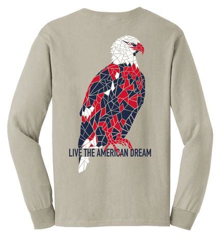 comfort eagle meaning long sleeve tees united
