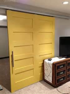 Ideas besides wood garage doors on interior barn door design