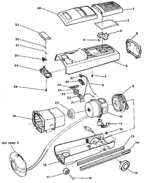 ELECTROLUX VACUUM CLEANER Parts | Model 00067 | Sears