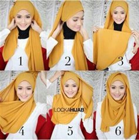 tutorial hijab intan khasanah 1000 images about hijab and niqab tutorials on pinterest