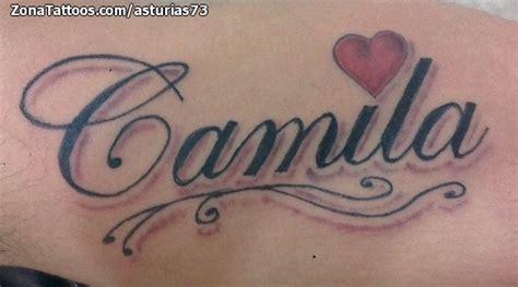imagenes tatuajes q digan gustavo tatuaje de camila nombres letras