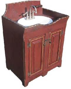 primitive sink for bathroom home decorating