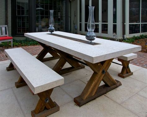 Marvelous 154 best exterior furniture dining table images on pinterest stone top outdoor