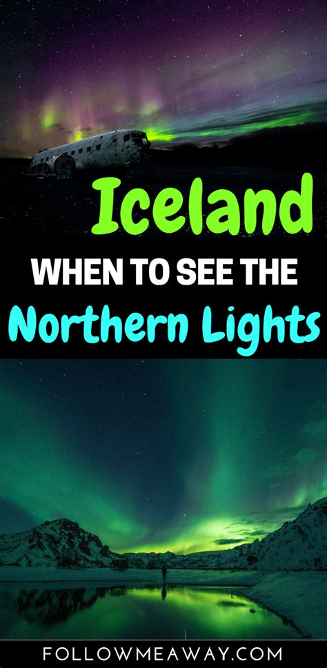 best time of year to see northern lights 7 reasons why the best time to visit iceland is the off