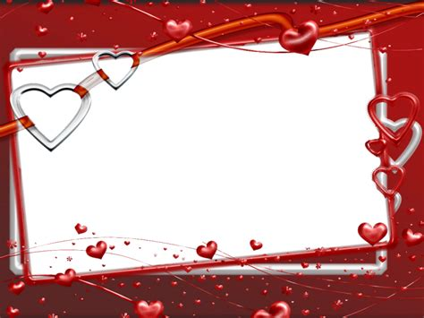 imagenes de corazones bellos marco foto san valentin 015 plantillas corazones pinterest