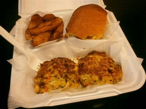 Enas Caribbean Kitchen by Those Amazing Crab Cakes I Mentioned Yelp