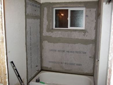 Installing Shower Backer Board by Drywall Repair Drywall Repair Around Shower