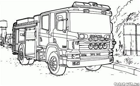 christmas truck coloring page fire engine ornaments fire free engine image for user