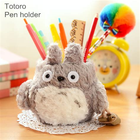 cute pen holder for desk cute pen holder my neighbor totoro pencil holders desk