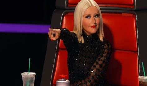 Aguilera Could Be by Aguilera In The Voice Extended Trailer I