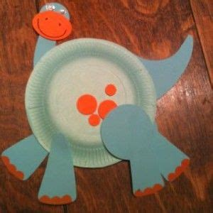 Paper Dinosaur Craft - paper plate dinosaur crafts and worksheets for preschool