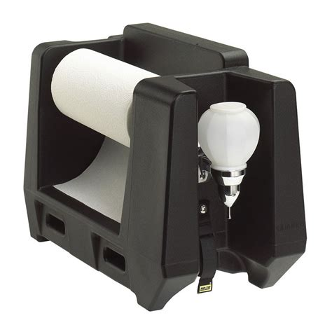 Soap Paper 1 Roll cambro hwapr110 handwashing station roll paper towel