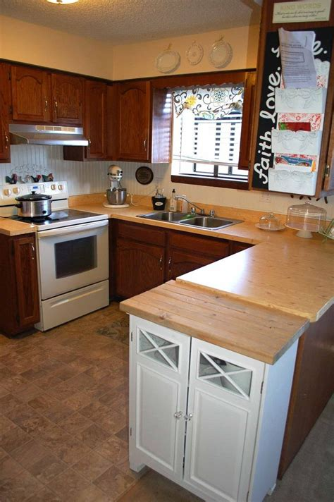 contact paper for kitchen countertops 10 ways we ve disguised rental kitchen countertops