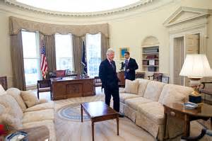 file barack obama and bill clinton in the oval office jpg