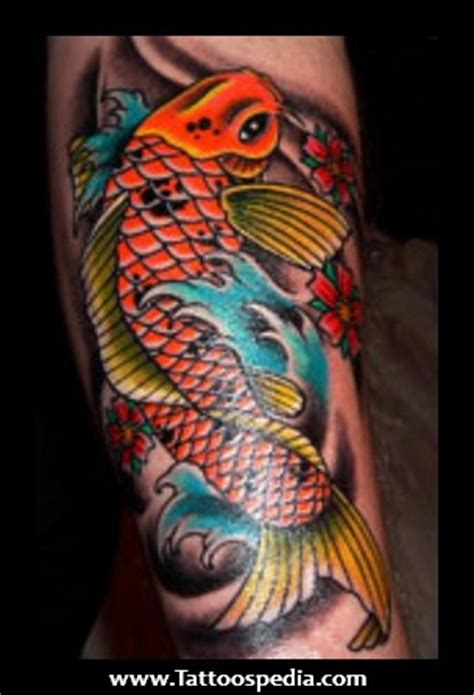 koi tattoo meaning color 5 koi fish tattoo meaning