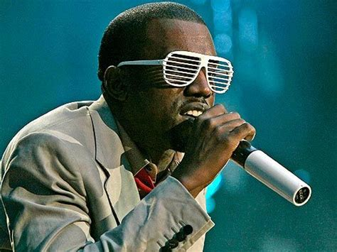 The Scoop On Kanye Wests Funky Sunglasses the scoop on kanye west s funky sunglasses kanye west