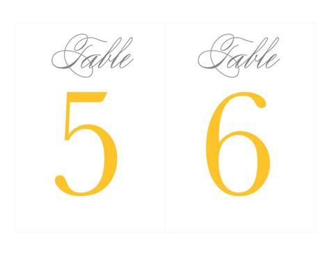 printable free numbers free printable table numbers wedding ideas grey