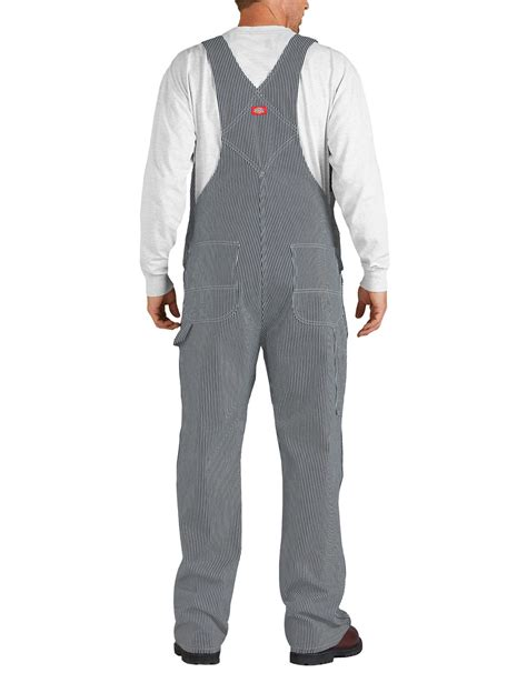 Overall Stripy striped bib overalls for dickies