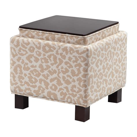 Madison Park Shelley Square Storage Ottoman With Pillows Ottoman With Storage
