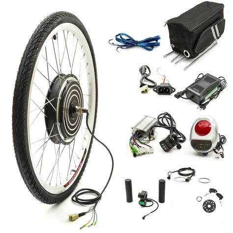 Electric Cycle Motor by Electric E Bicycle Cycle Bike Conversion Kit 26 Front