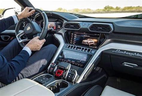 Lamborghini Interior lamborghini urus interior leaked