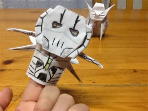 Origami General Grievous - monstrely stooky general grievous origami yoda