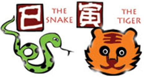 snake and tiger chinese compatibility horoscope for a