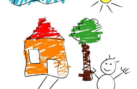 House Architecture Drawing House Drawing For Kids It Should Be The Place Where Kids