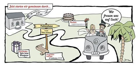 Hochzeitseinladung Auto by Hochzeitseinladung Comic Alle Guten Ideen 252 Ber Die Ehe