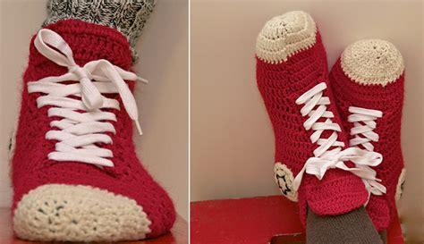crochet converse slippers pattern free crochet converse slippers pattern free beesdiy