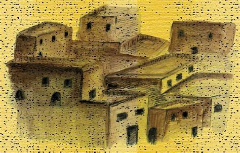ancient middle eastern homes with flat roofs bible history ancient flat roofs