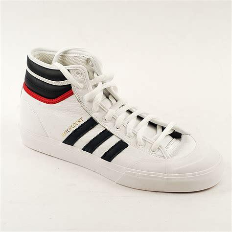 adidas matchcourt adidas matchcourt high white navy scar forty two